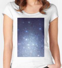 Stars freezing to standstill Tailliertes Rundhals-Shirt