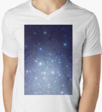 Stars freezing to standstill T-Shirt mit V-Ausschnitt für Männer