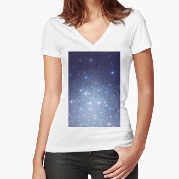 Stars freezing to standstill Fitted V-Neck T-Shirt
