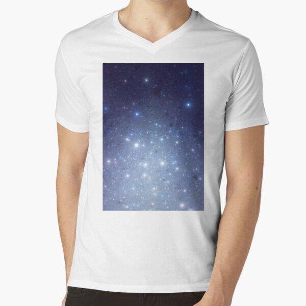 Stars freezing to standstill V-Neck T-Shirt
