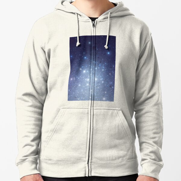 Stars freezing to standstill Zipped Hoodie