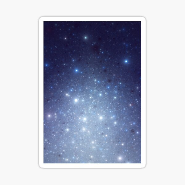Stars freezing to standstill Sticker