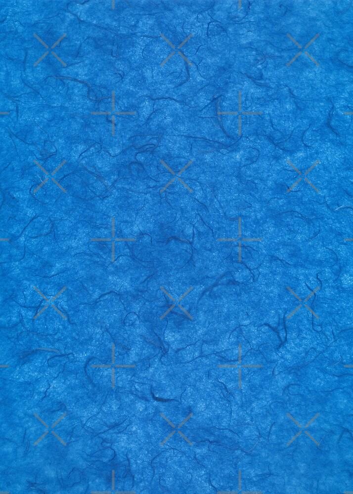 Simply blue fiber paper by Skullz23