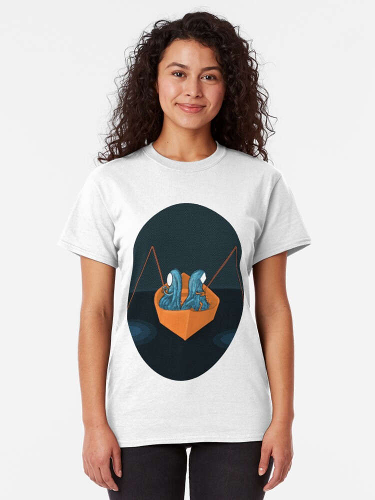 Alternate view of 2 in a boat Classic T-Shirt
