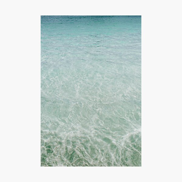 summer ocean vii Photographic Print
