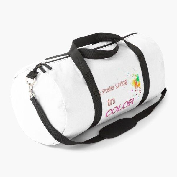 Colourful, colorful world Duffle Bag