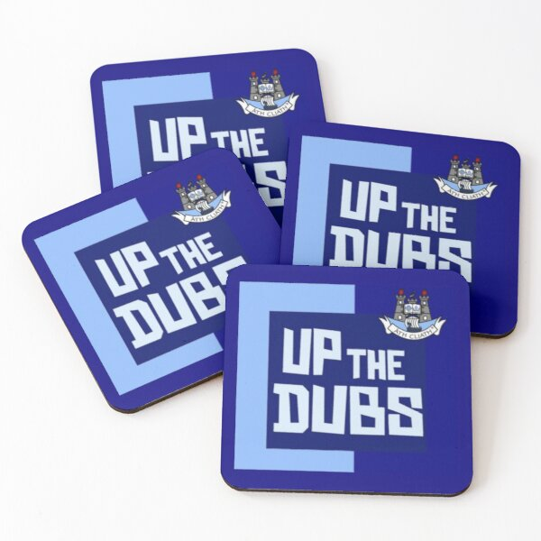 Up the dubs  Coasters (Set of 4)