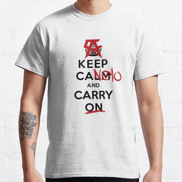 Quédate con Canelo y continúa - Boxeo Mexicano Camiseta clásica