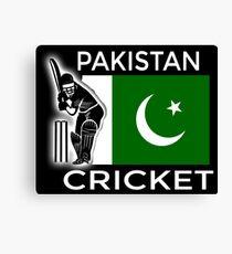Pakistan Cricket Canvas Print