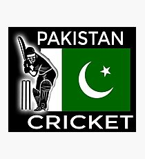 Pakistan Cricket Photographic Print
