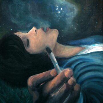 Smoke in the Nebula by Ashley-Elliot