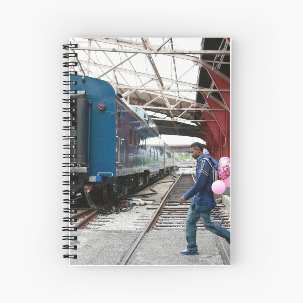 Pink Balloons Spiral Notebook