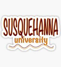 Susquehanna University Sticker