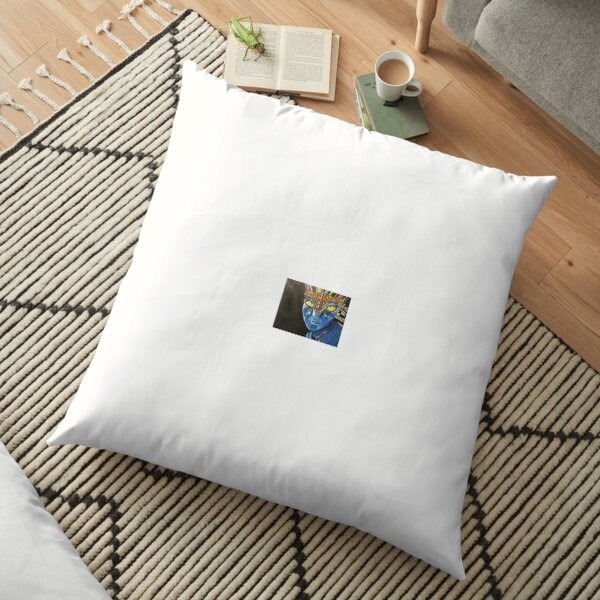 Neytiri in Battle Floor Pillow