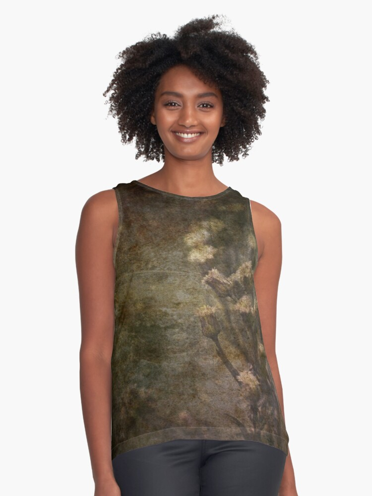 rustic Contrast Tank Front