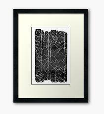 Ink Mounts Framed Print