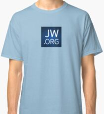 JW.org Design with Floral Background Classic T-Shirt