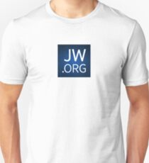 JW.org Design with Floral Background T-Shirt