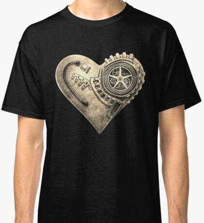 Steampunk Vintage Clockwork Heart Steampunk T-Shirts Classic T-Shirt