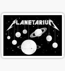 Planetarium (welcome Home) Sticker
