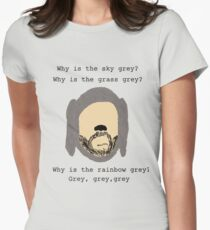 Wilfred grey Women's Fitted T-Shirt
