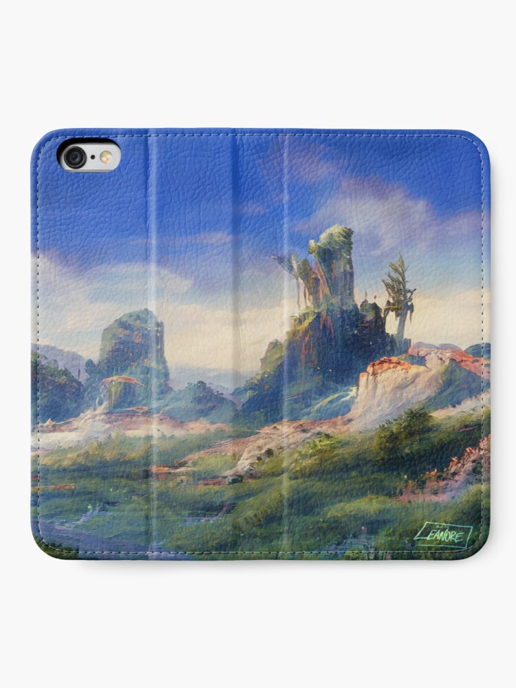Alternate view of Peaceful & Lush iPhone Wallet