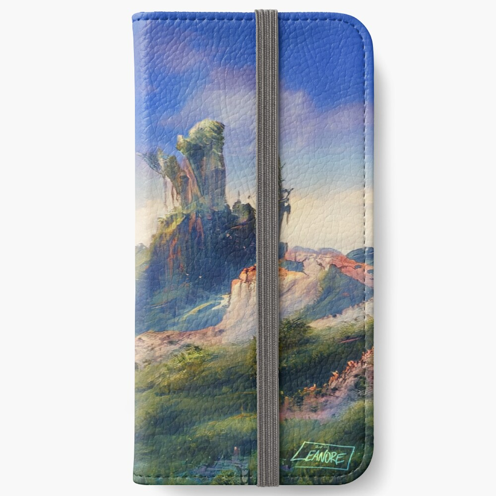 Peaceful & Lush iPhone Wallet