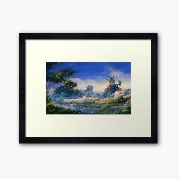 Peaceful & Lush Framed Art Print