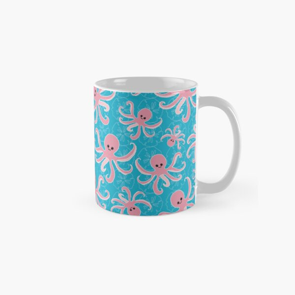 Pinky the Baby Octopus by Creative Bee Studios Classic Mug