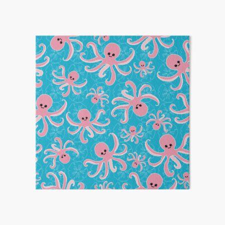 Pinky the Baby Octopus by Creative Bee Studios Art Board Print