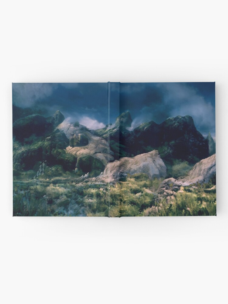 Alternate view of Cragly but also Lush Hardcover Journal