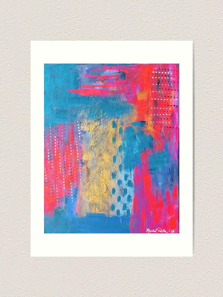 Alternate view of Color Study 1 Art Print