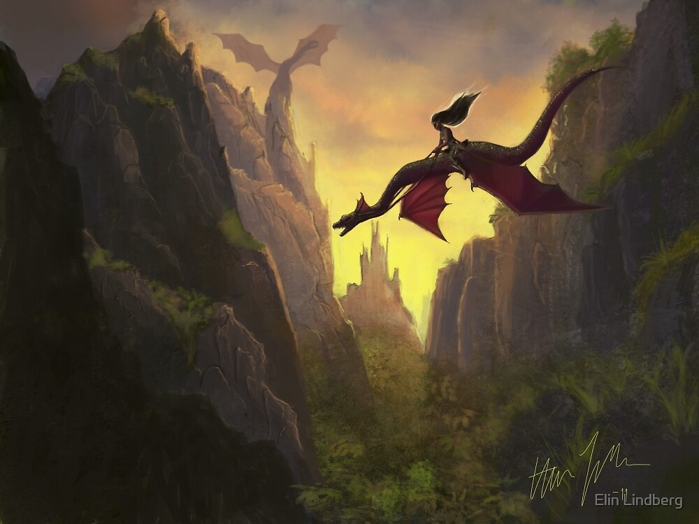Dragon Rider by Elin Lindberg