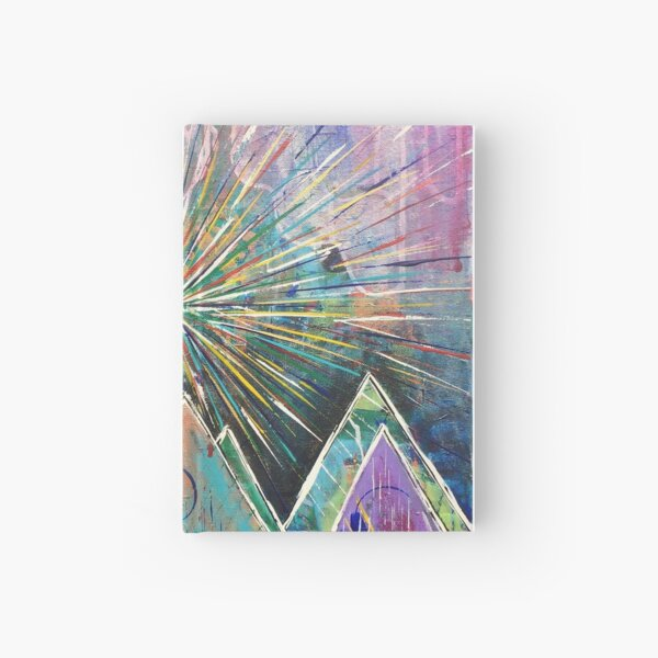 Morning in the Mountains Hardcover Journal