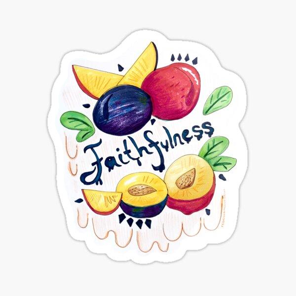 Faithfulness Sticker Sticker