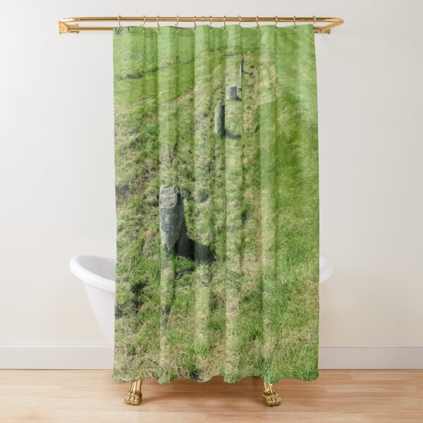 M.I. #120  ☼  Countrytide Breakers (Hadrian's Wall) Shower Curtain