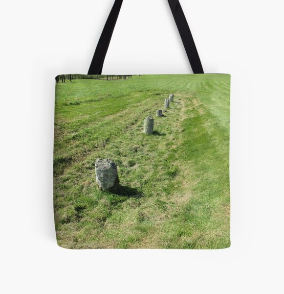 M.I. #120 |☼| Countrytide Breakers (Hadrian's Wall) All Over Print Tote Bag