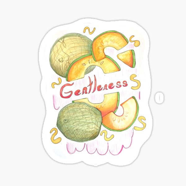 Gentleness Sticker Sticker
