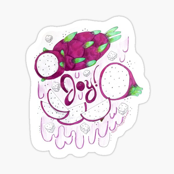 Joy Sticker Sticker