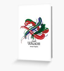 Clan Wilson  Greeting Card