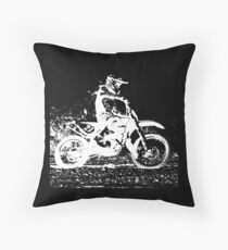 Enduro Throw Pillow