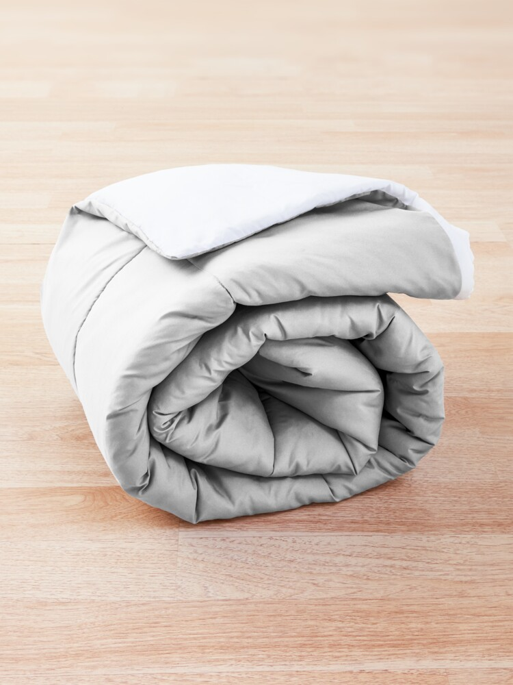 Alternate view of Four Vibrant Mushrooms Friends  Comforter