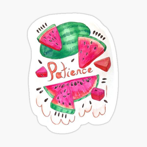Patience Sticker Sticker
