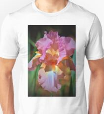 Pink And Orange Iris Unisex T-Shirt