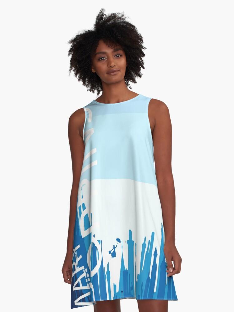 The Nanny A-Line Dress Front