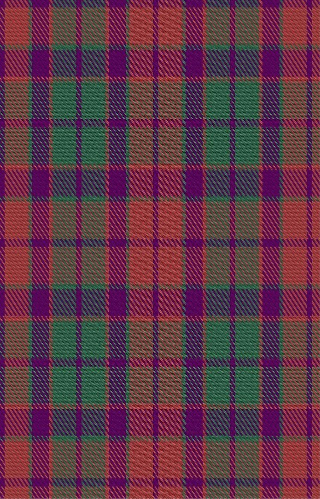 01276 Tangier's Scarlet Fashion Tartan  by Detnecs2013