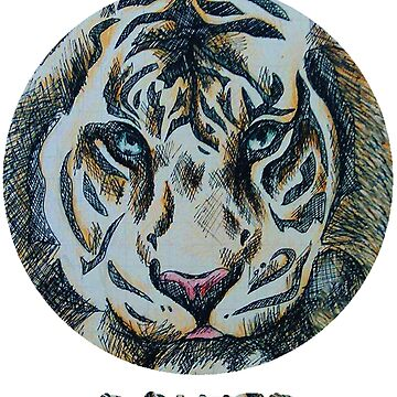 Tiger by Boscy