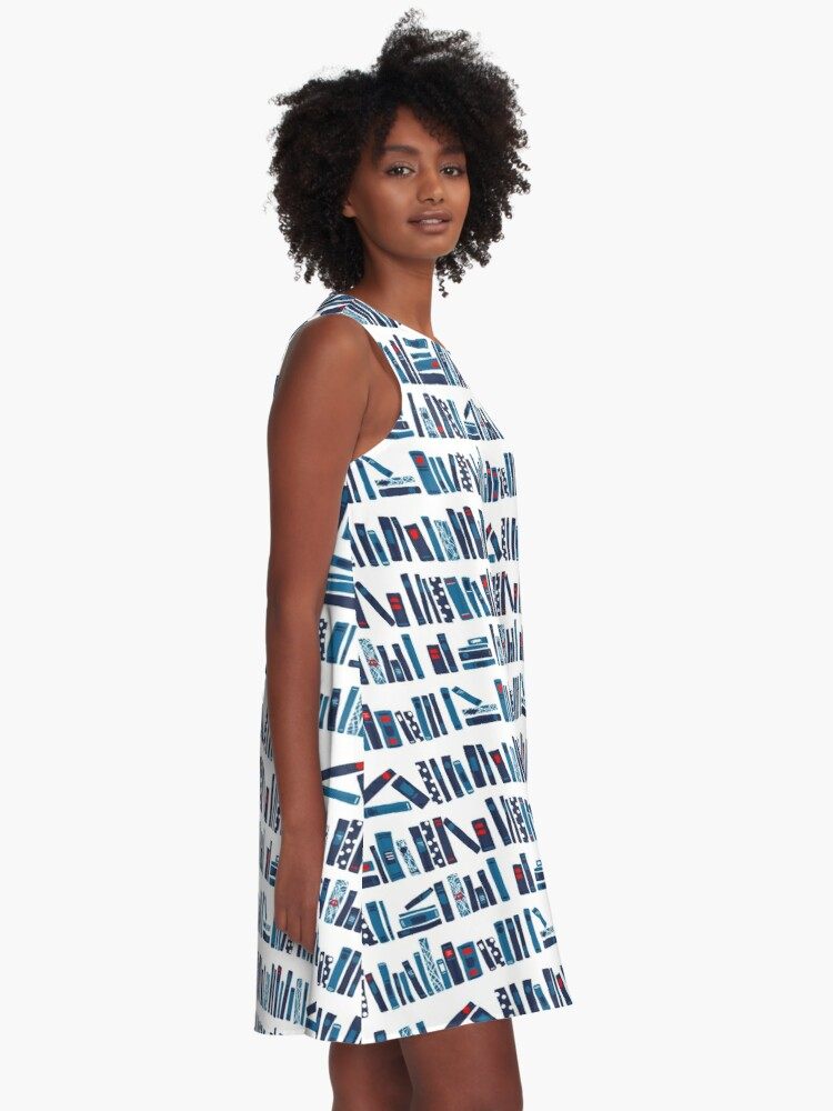 Alternate view of Keep Reading A-Line Dress