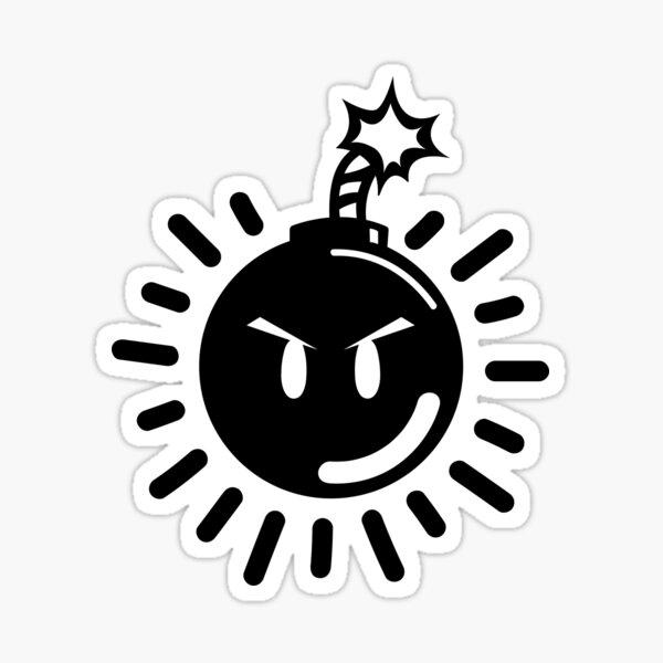 Bob-Omb Logo Glossy Sticker