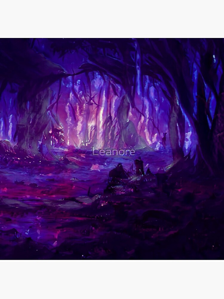 Amethyst Forest by Leanore
